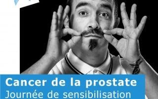 Affiche conférence ANAMACaP cancer de prostate à Saintes