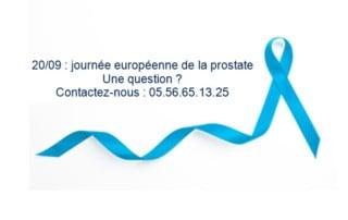 Image journée européenne de la prostate