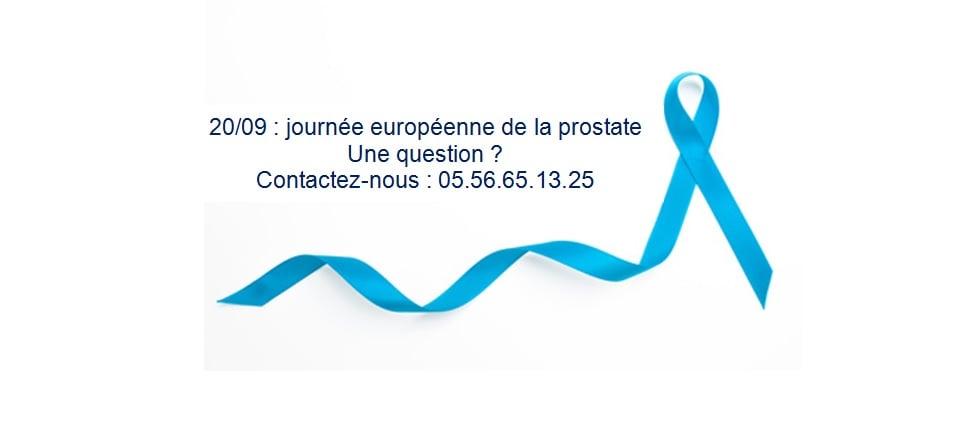 20/09 : journée européenne de la prostate