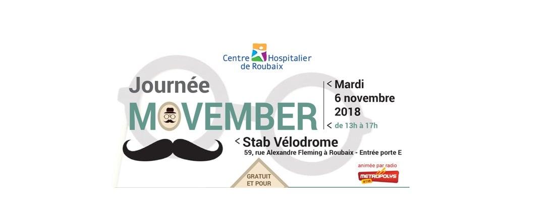 Journée Movember à Roubaix
