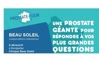 Programme prostate tour à Montpellier
