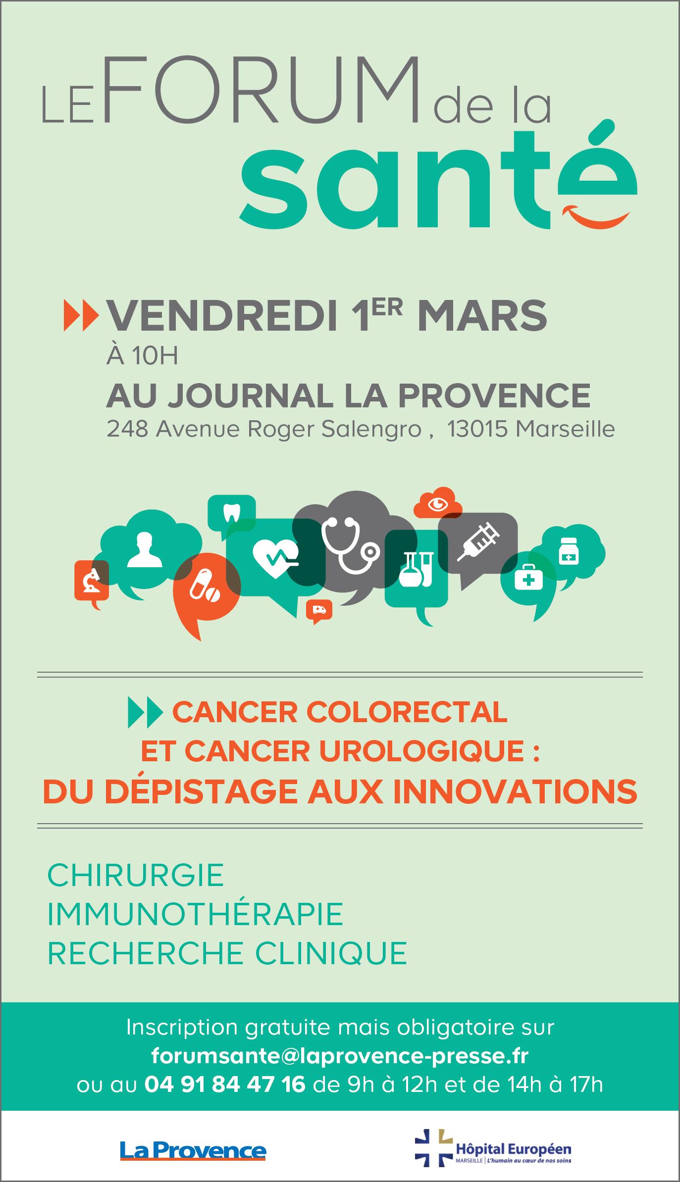 Forum de la Santé Marseille 1er mars 2019