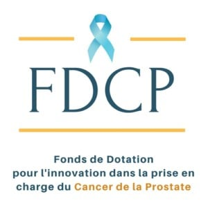 logo FDCP : fonds dotation cancer prostate