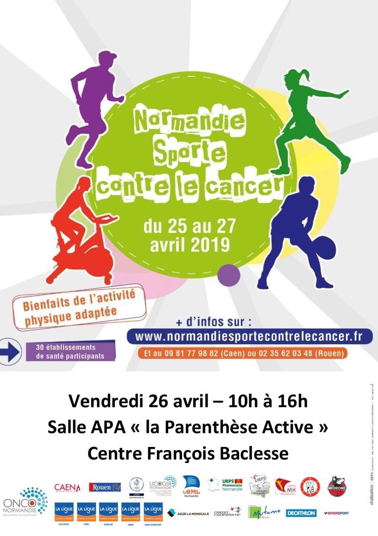 « Normandie Sporte Contre le Cancer »