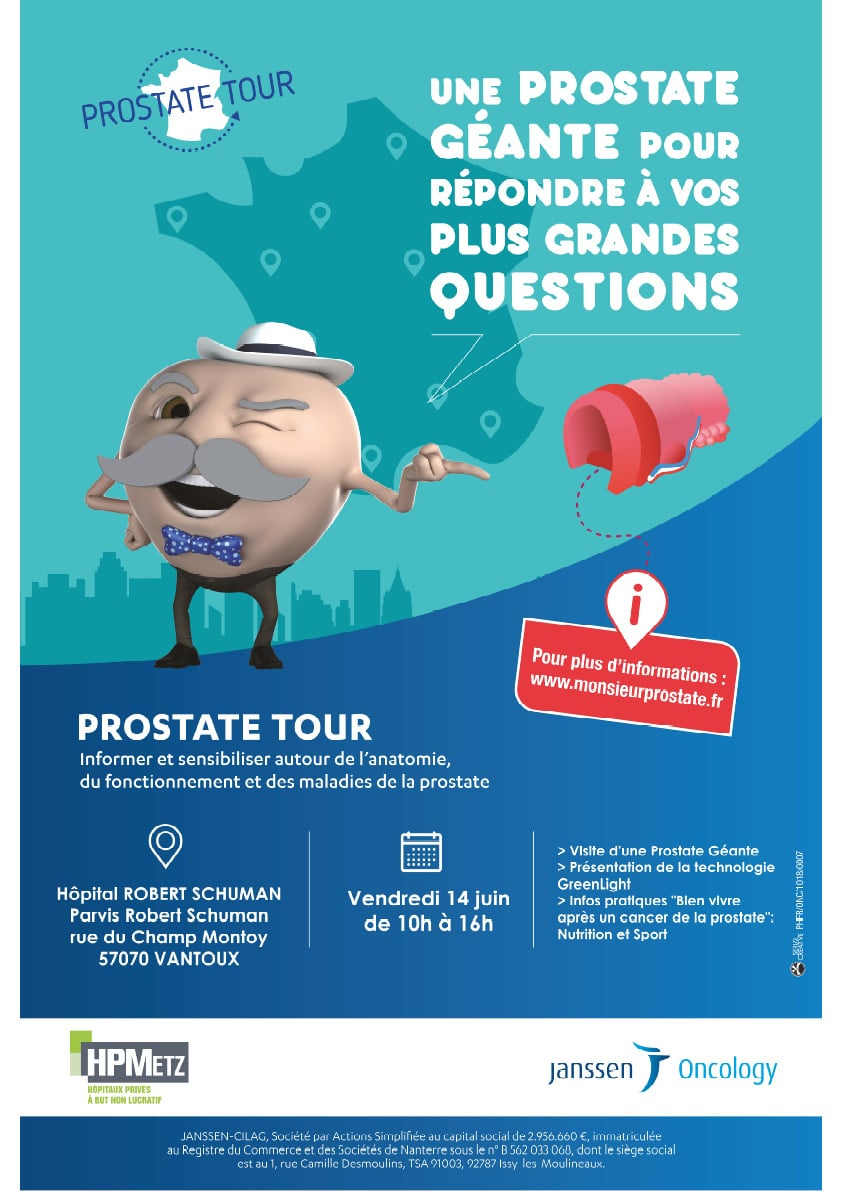 Prostate Tour à Metz