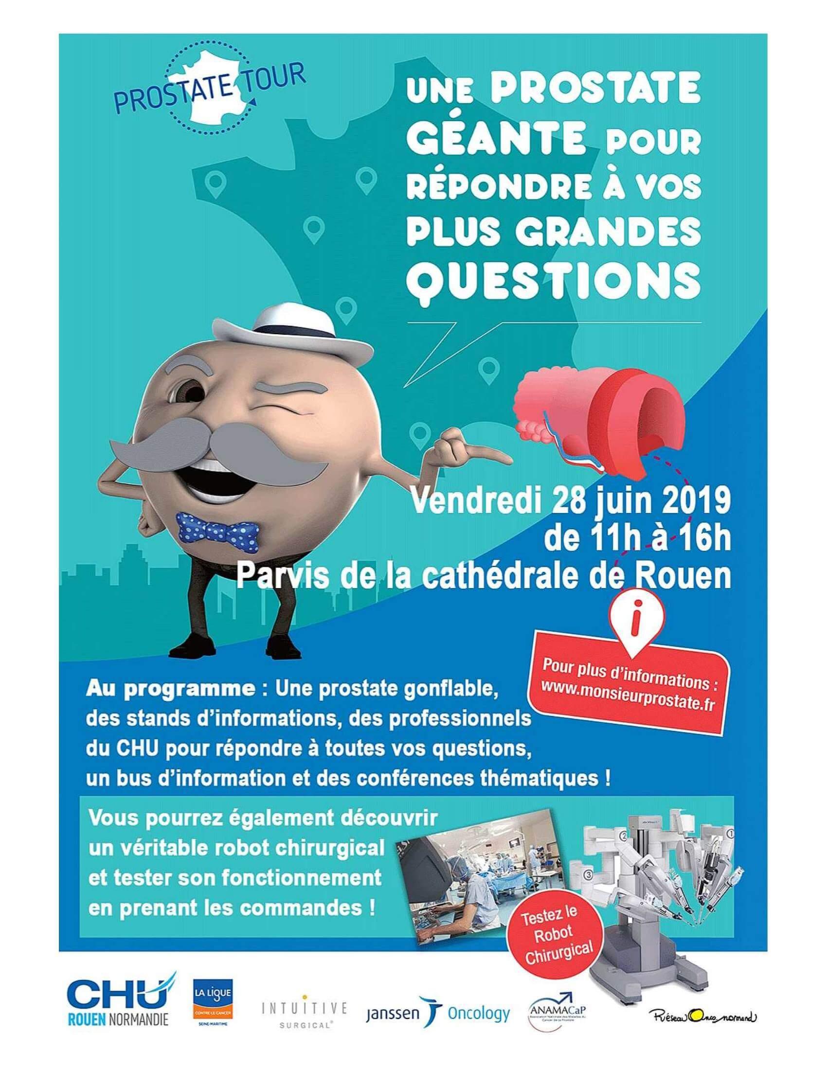 Journée d'information sur la prostate à Rouen