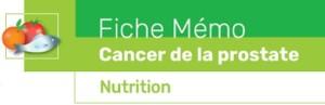 Fiche outil patient cancer prostate nutrition