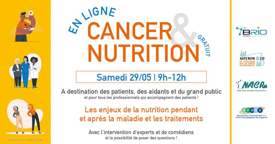 Conférence cancer et nutrition en ligne
