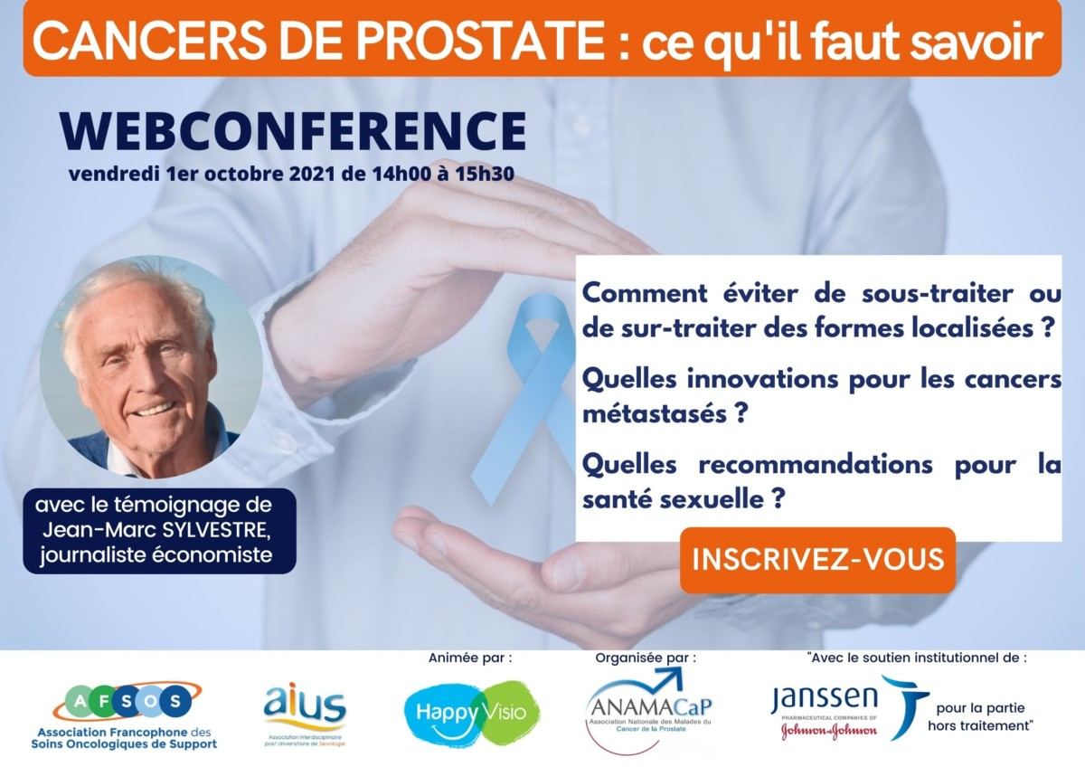Webconférence cancers de prostate
