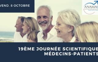 19ème journée scientifique médecins patients ANAMACaP